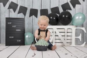 cakesmash-jongen-groen